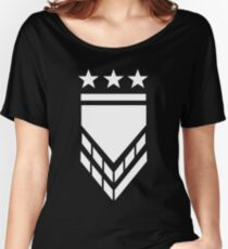 Eng Design Military Style Women's Relaxed Fit T-Shirt