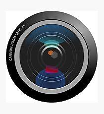 Camera Lens Photographic Print