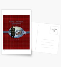 Merry Christmas Sassenach Postcards
