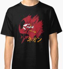 Neon Genesis Unit-02 Evangelion Japanese Katakana Classic T-Shirt