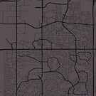 Sherwood Park Map by kennedywesley