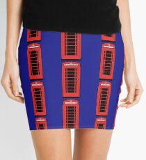 British Red Phone Box Mini Skirt