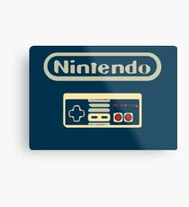 Nintendo (VIDEO JUEGOS) Metal Print