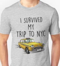 i survived my trip to nyc T-Shirt