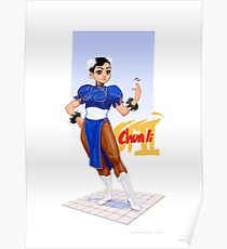 Street fighter 2 - Chun Li Poster