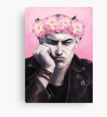 Flower crown Ronan Canvas Print