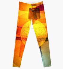 Suprematist Architectural Model Leggings