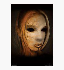 Mask Photographic Print