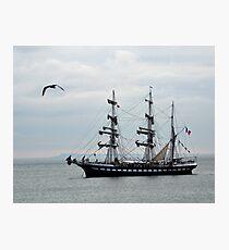 Belem French Training Ship At  Lyme.Dorset.UK  Photographic Print