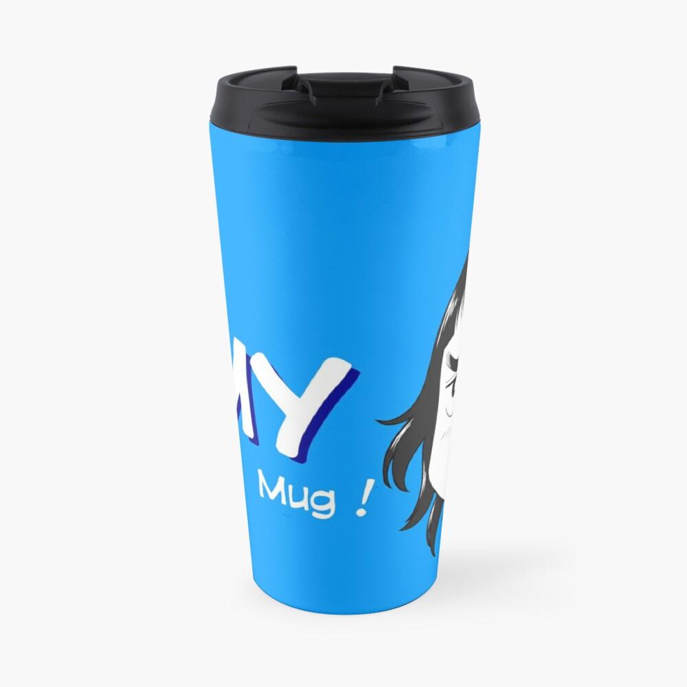 Mug de voyage «8-OPTIONS.COM - EN - MY MUG - BLUE - 10$ for the Authors»