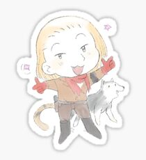 MGS stickers - Ocelot Shalashaska Sticker
