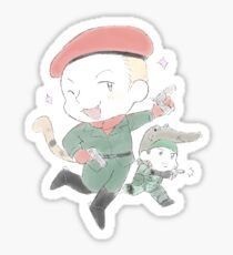 MGS stickers - Revolver Ocelot Sticker