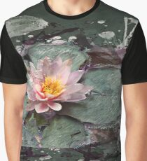 Nymphea - Lotos Flower, Water Lily - Seerose Graphic T-Shirt