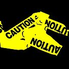 Caution Tape by Nathan Little