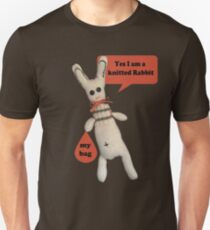 Yes I am a Knitted Rabbit T-Shirt