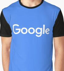 New White Google Logo (September 2015) - Clear, High-Quality, Large Graphic T-Shirt
