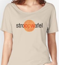 Stroopwafel (Dutch Waffle) Women's Relaxed Fit T-Shirt