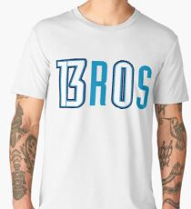Thunder Bros - Paul George and Russell Westbrook Men's Premium T-Shirt