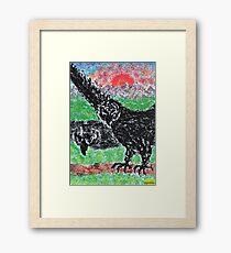 1309 - Birds in Nature Framed Print