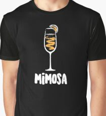 Mimosa Cocktail Drink  Graphic T-Shirt