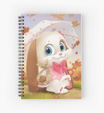 Happy Schnuffelienchen Spiral Notebook