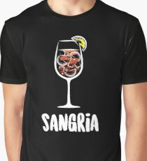 Sangria Cocktail Drink  Graphic T-Shirt
