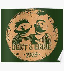 Bert & Ernie Poster