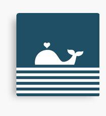 Whale design Canvas Print