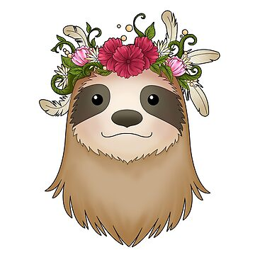 Pretty sloth by CoyoDesign