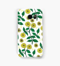 Yellow Wildflowers Samsung Galaxy Case/Skin