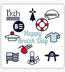 HAPPY BREIZH DAY - the collector -  Sticker