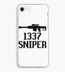 1337 Sniper (Elite) iPhone Case/Skin