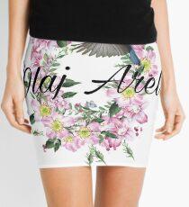 Olaj Arel Flores Mini Skirt