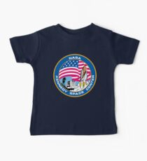 old logo kennedy space center Kids Clothes