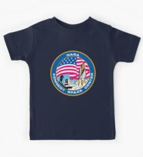 old logo kennedy space center Kids Tee