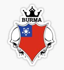 Burma Sticker