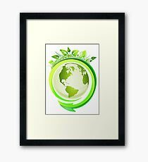 Earth Nature Ecology Framed Print