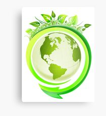 Earth Nature Ecology Metal Print