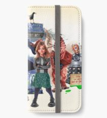 Doctor Who - Series 9 Caricature iPhone Wallet
