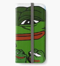 The Good, The Bad and The Worried? - Illustration by Liftalot iPhone Wallet/Case/Skin