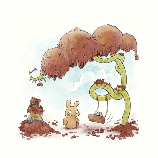 Tobias and Jube: Tree Swing by Patrick Alexander