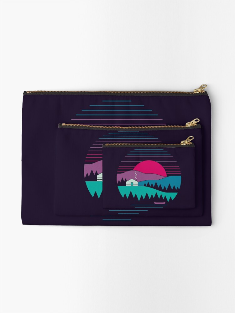 Alternate view of Back to Basics Zipper Pouch
