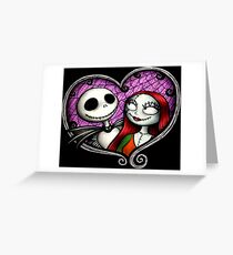 The Skellington duo Greeting Card