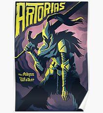 Artorias Knight Warrior Poster