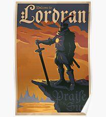 Templar Knight Warrior Poster