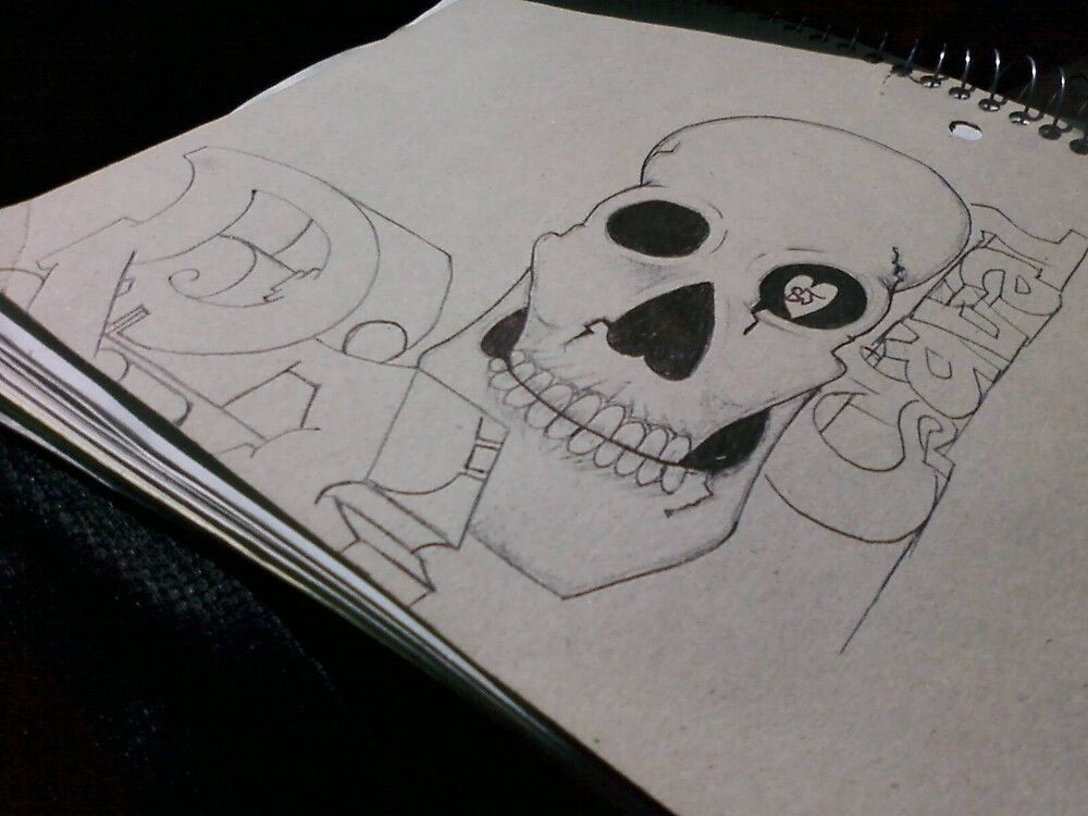 skull by Jonathan  Garcia