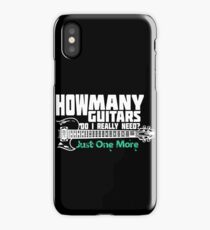 How Many Guitars Do I Really Need? Just One More iPhone Case/Skin