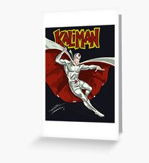 Kaliman Greeting Card