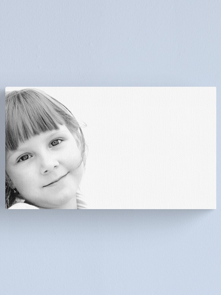 Alternate view of Her eyes Canvas Print