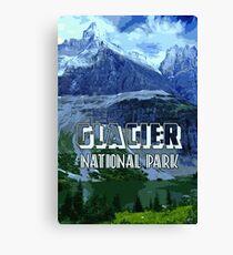 Montana Glacier National Park Canvas Print